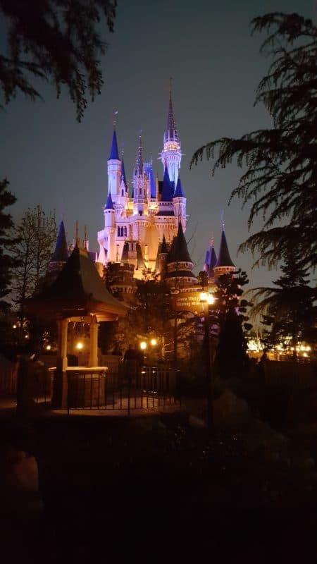 Behind the Castle Tokyo Disneyland