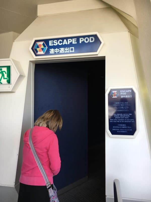 Star wars ride walk of shame Tokyo Disneyland