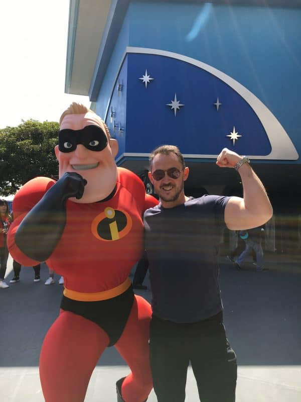 Mr Incredible Tokyo Disneyland
