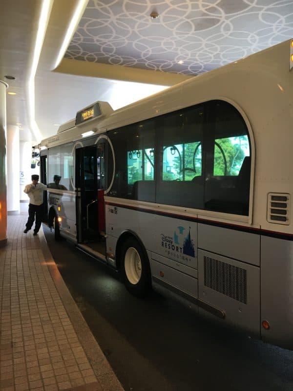 Hotel Shuttle Bus Tokyo Disneyland