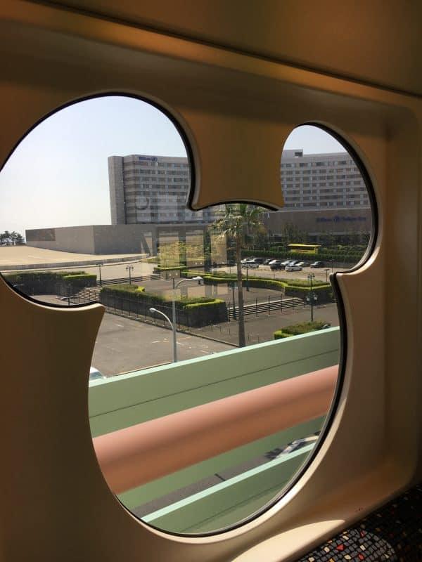 View from Monorail Tokyo DisneySea