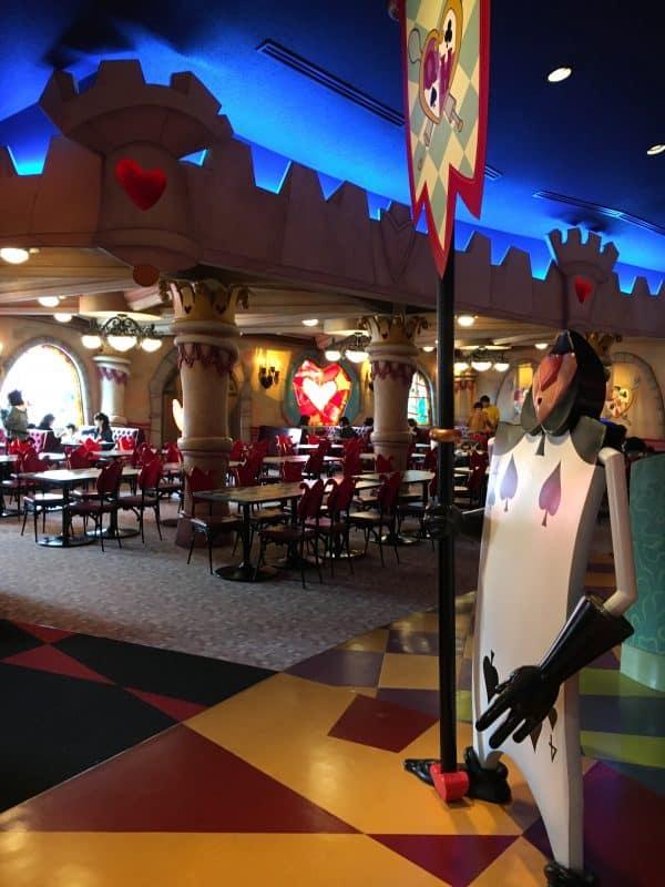 Queen of Hearts Tokyo Disneyland