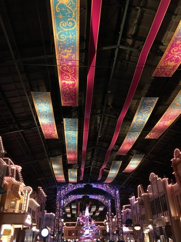 World Bazaar Tokyo Disneyland Night