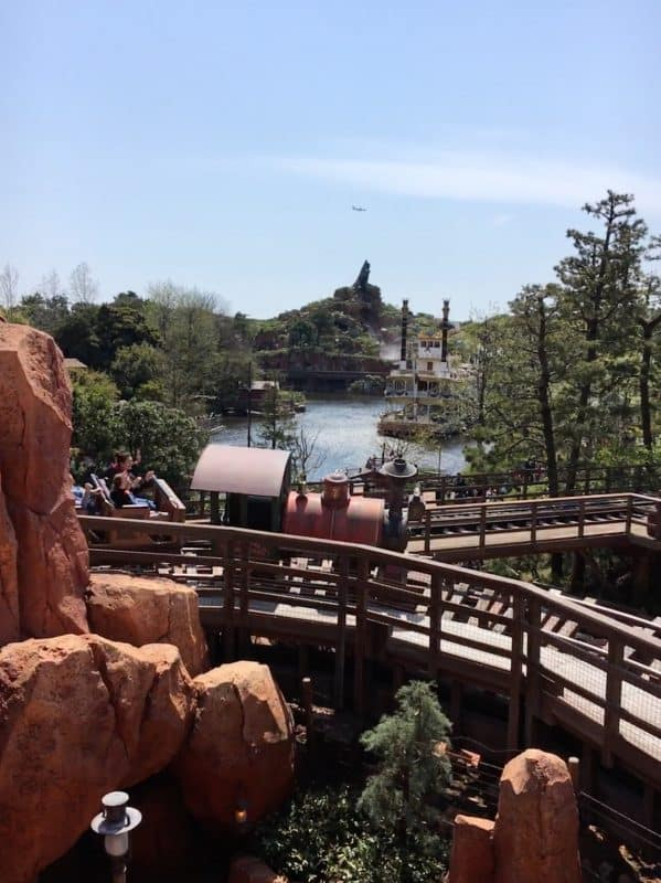 Big Thunder mountain railroad Tokyo Disneyland