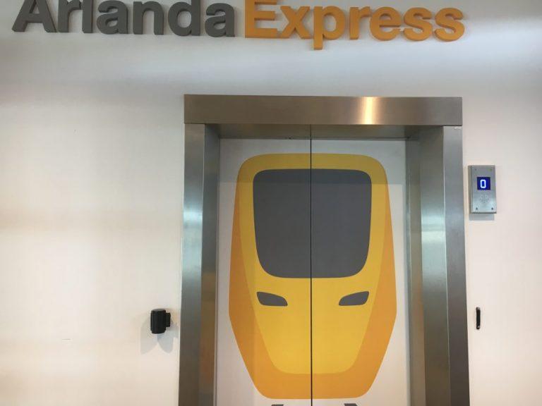 Arlanda Express lift Stockholm