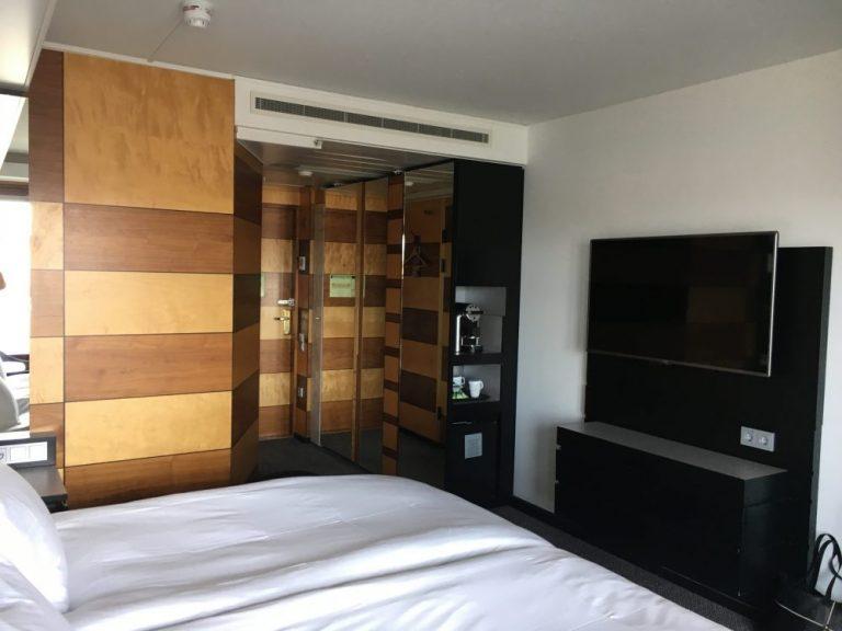hotel room Hilton Stockholm