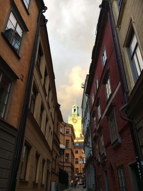 Street in Gamla Stan Stockholm