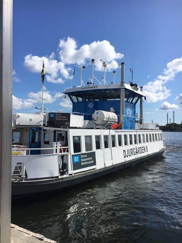 Ferry to Djurgarden