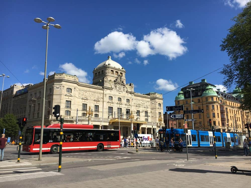 Getting around Stockholm
