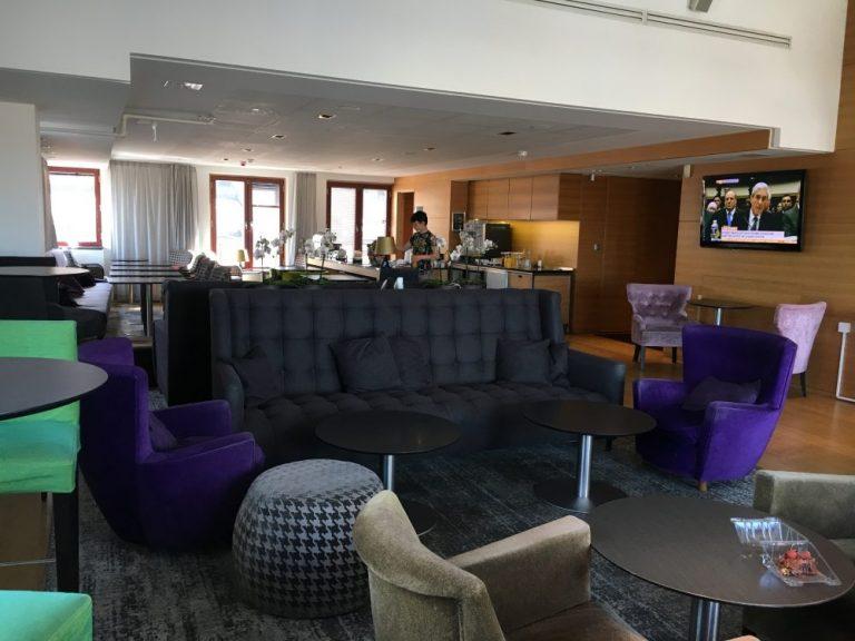 Hilton Stockholm Executive Lounge