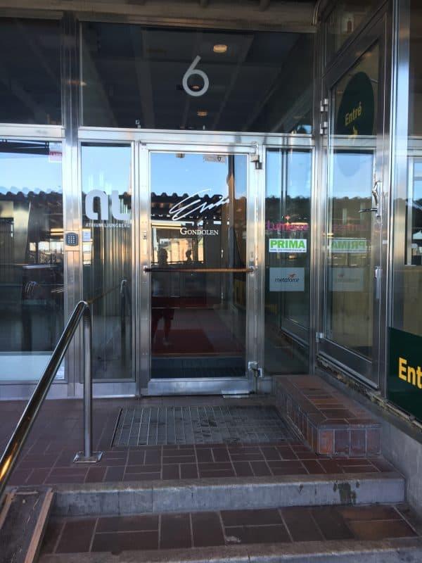 Entrance to Gondolen