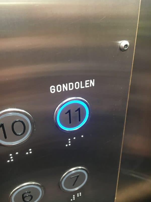 Inside Elevator