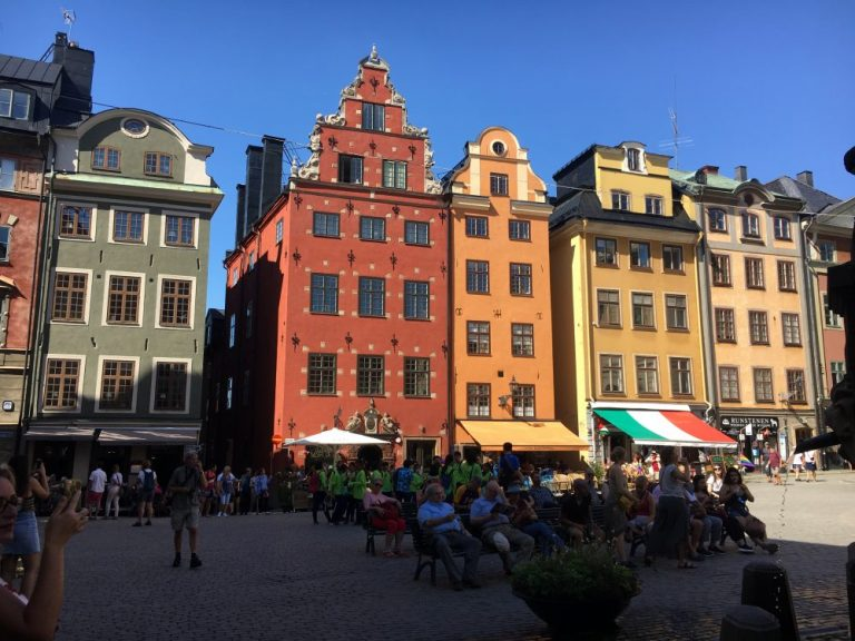 Square in Gamla Stan Stockholm