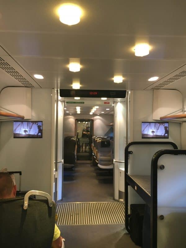 Onboard Arlanda Express