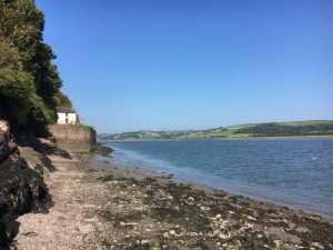 Boathouse at Laugharne