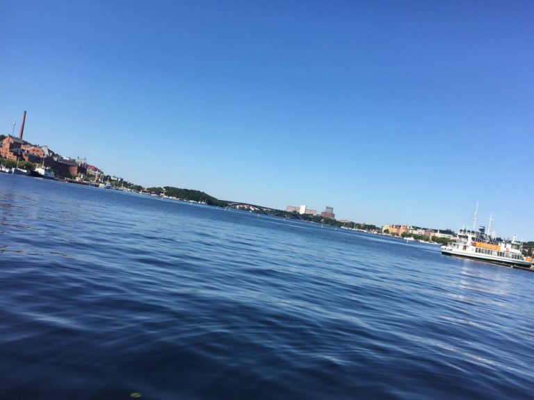 When we went to Stockholm