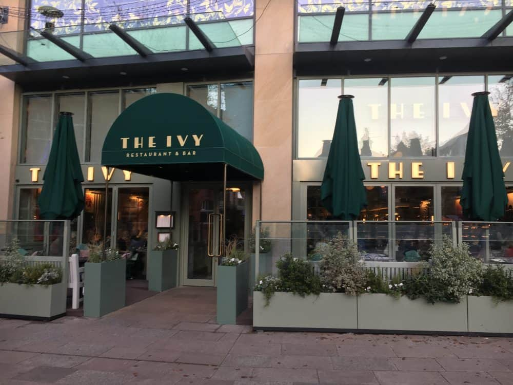 Eating in Cardiff The Ivy