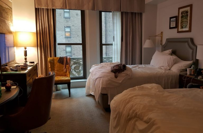 Hotel in New York in February