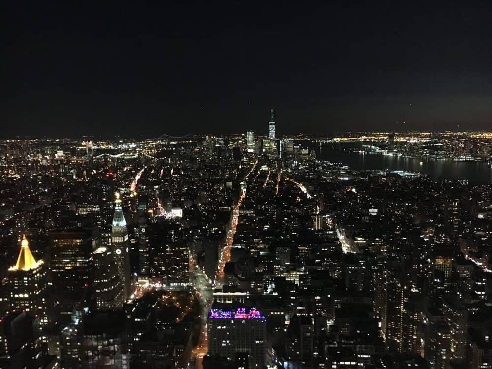 Getting around New York in February