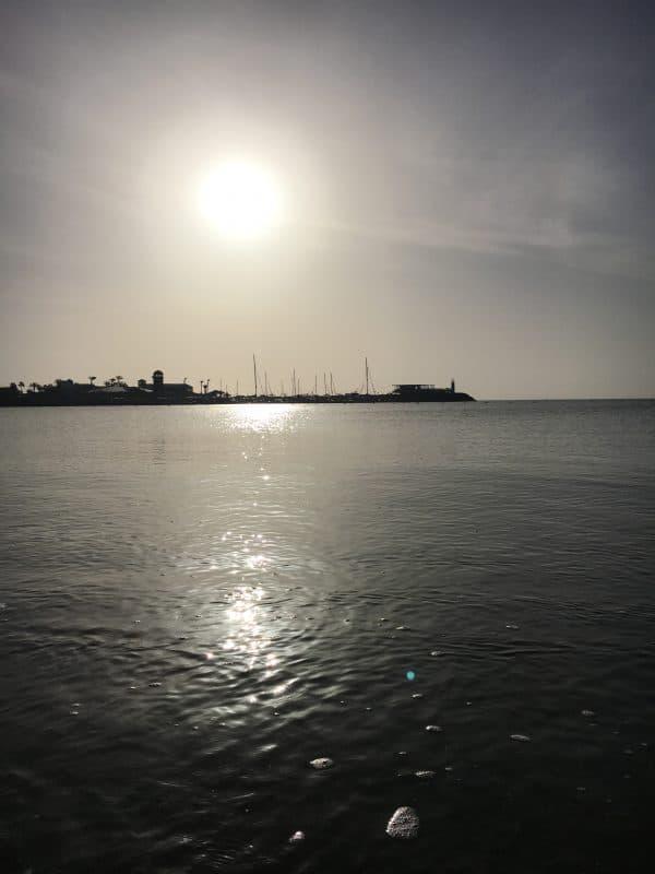 Sunset in Fuerteventura in February