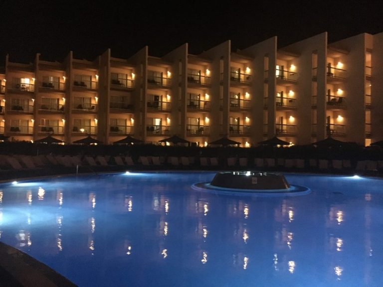 Barcelo hotel in Fuerteventura in February