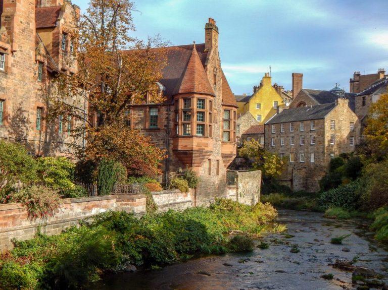 Dean Village Things to do in Edinburgh as a family