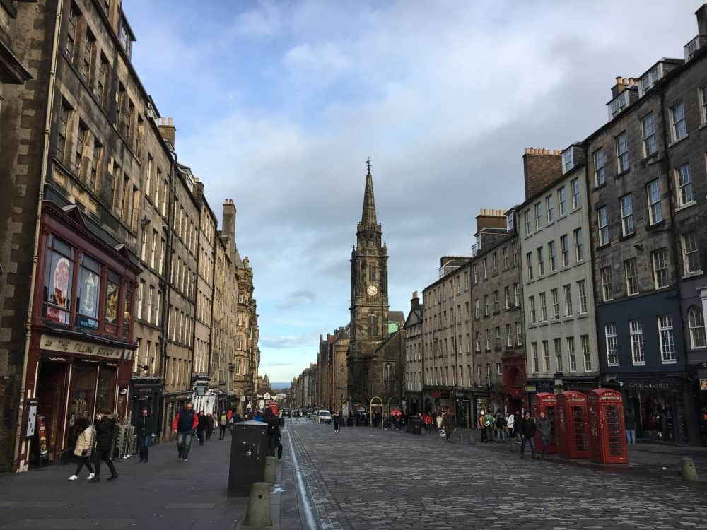 The Royal Mile things to do in Edinburgh