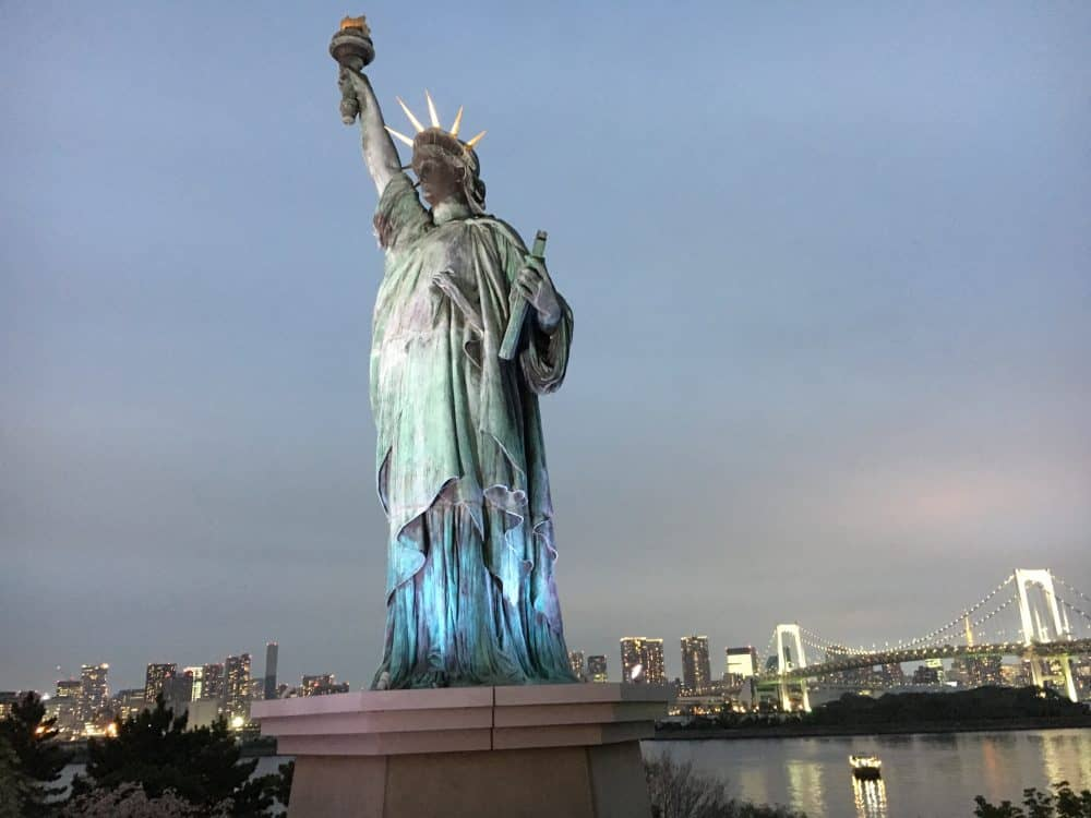 Statue of Liberty Things to do in Tokyo