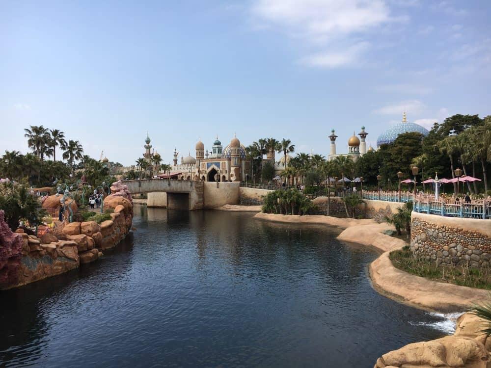Arabian coast Tokyo Disneysea rides & attractions