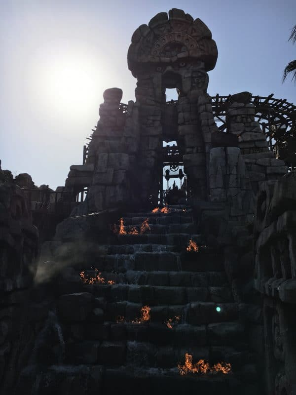 Temple of the Crystal Skull Tokyo Disneysea rides & attractions