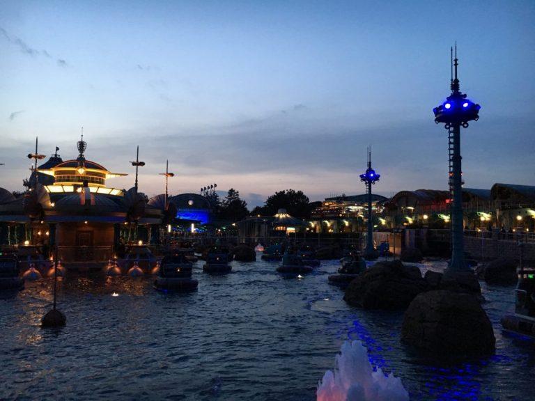Aquatopia Tokyo Disneysea rides & attractions