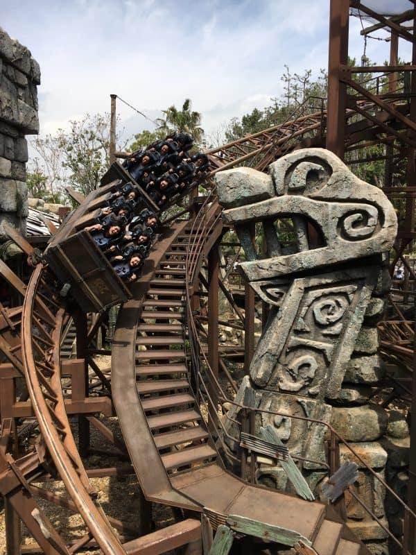 Raging Spirits ride Tokyo DisneySea Rides & attractions