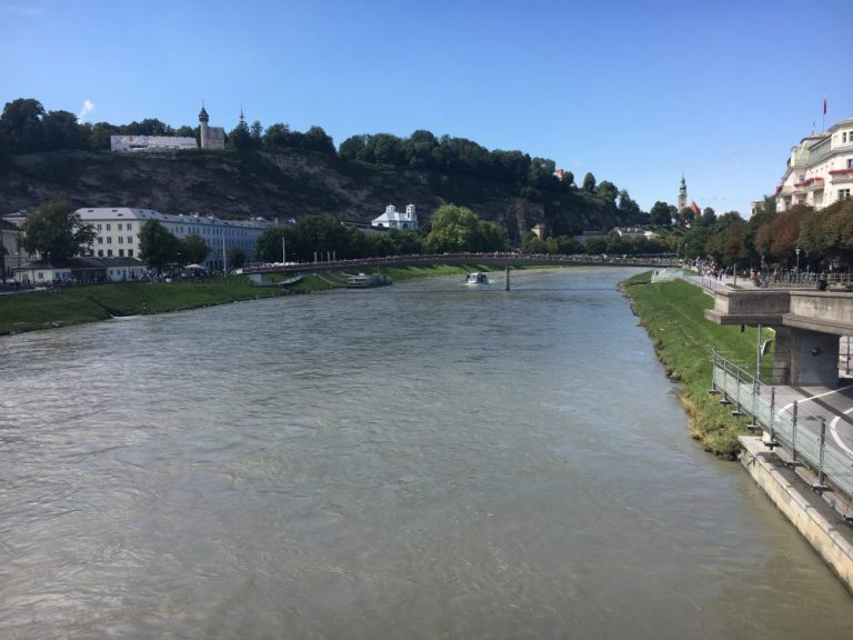 The River in Is Salzburg worth a visit?