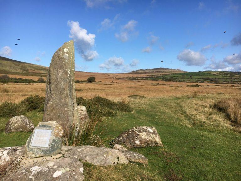 Standing stones Preseli Hills