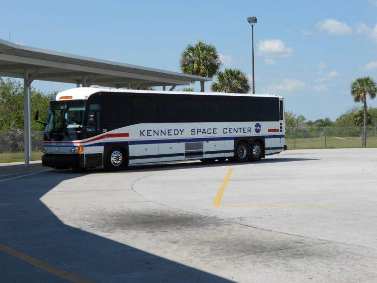 Kennedy Space Centre tour bus