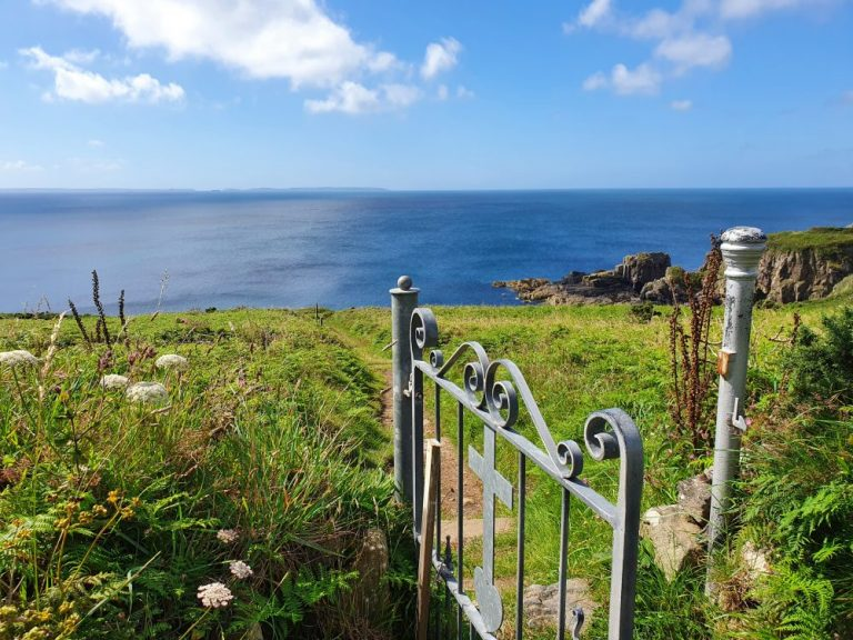 Coast path walks in Pembrokeshire at St Non's