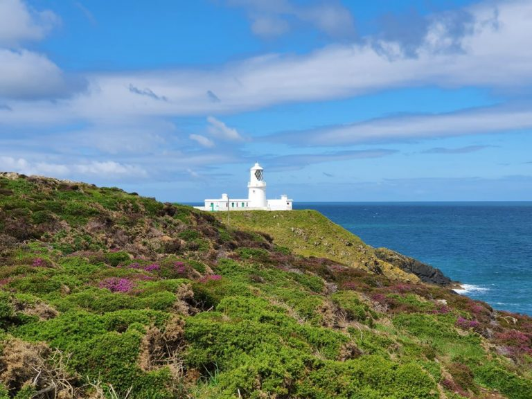 Strumble Head Lighthouse during the day