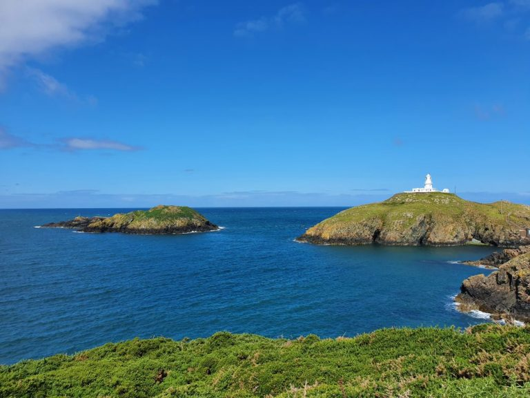 Strumble Head lighthouse in the morning