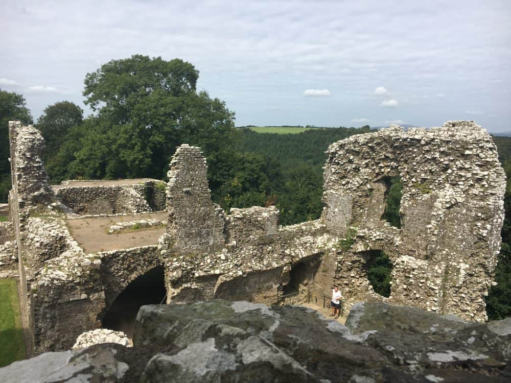 More info on family fun at Llawhaden Castle