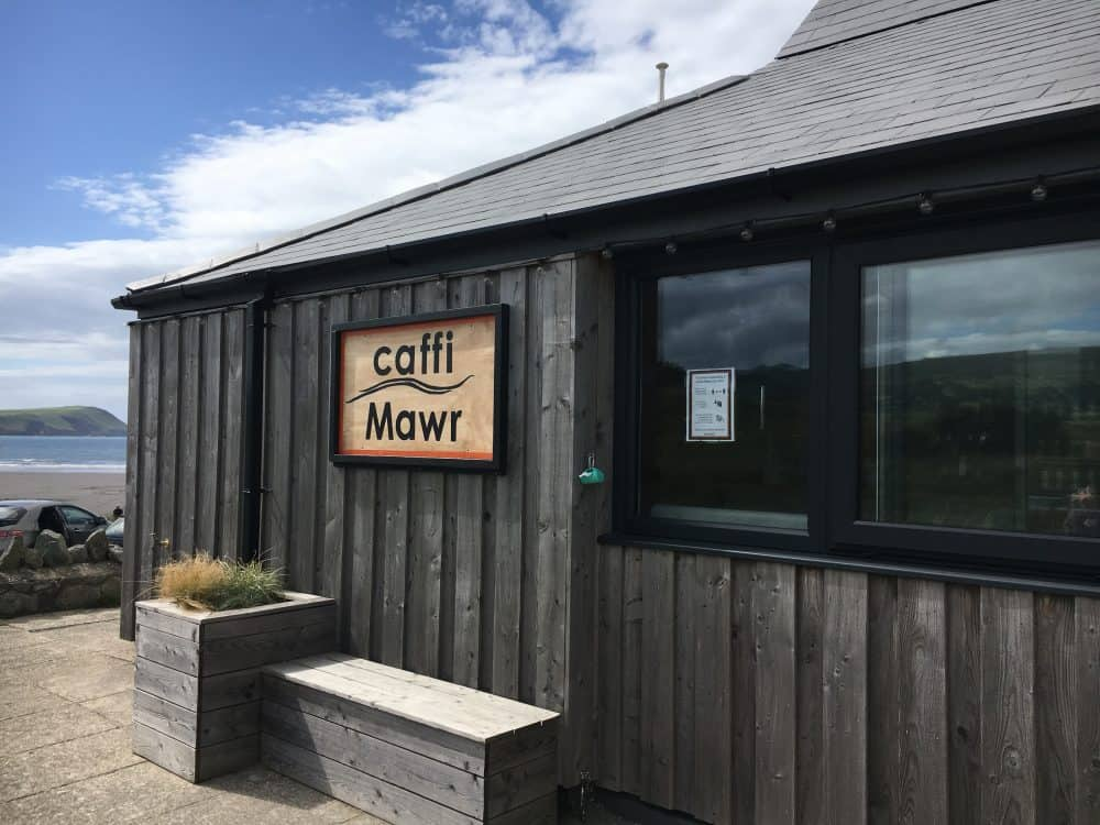 Caffi Mawr on Newport Sands in Pembrokeshire