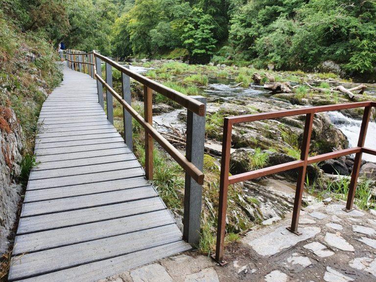 Cenarth Falls walkway
