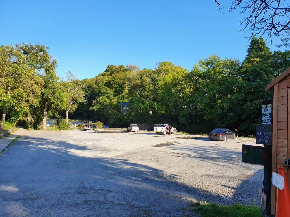 Cenarth Falls Car Park