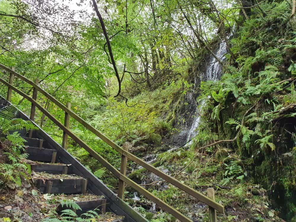 Waterfalls around Pembrokeshire Gwaun Valley