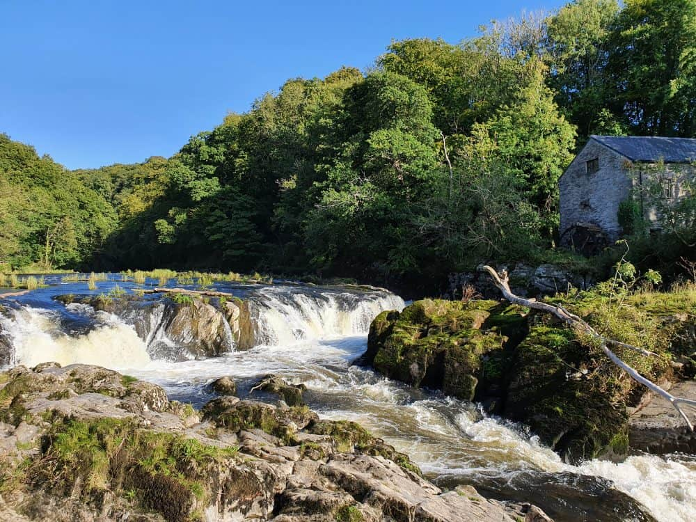 Waterfalls around Pembrokeshire Cenarth Falls