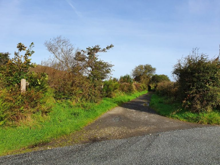 Start of the Foel Drygarn walk