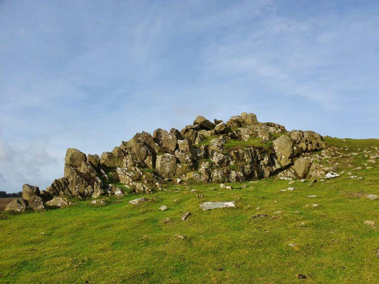Interesting rocks on the Foel Drygarn walk
