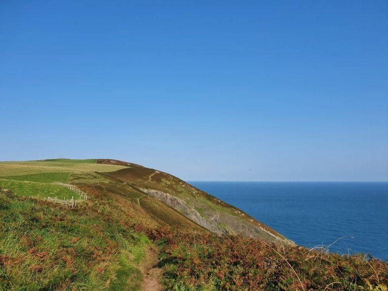 Dinas Head Walk Route