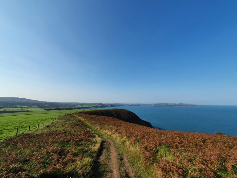 Coast path walks in Pembrokeshire