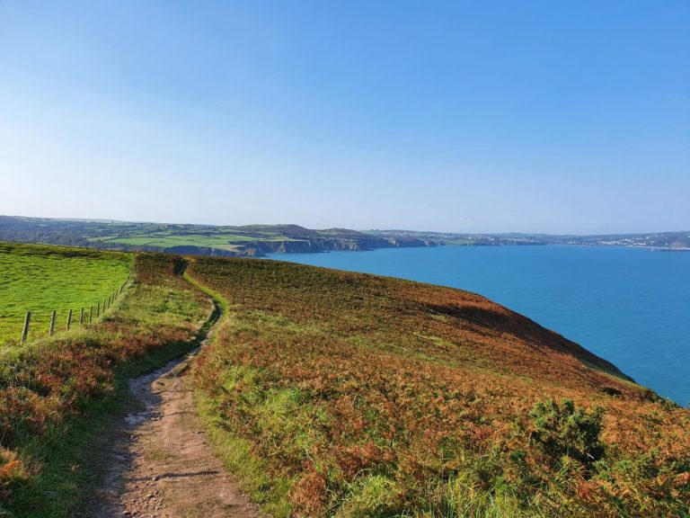 Dinas Head Walk