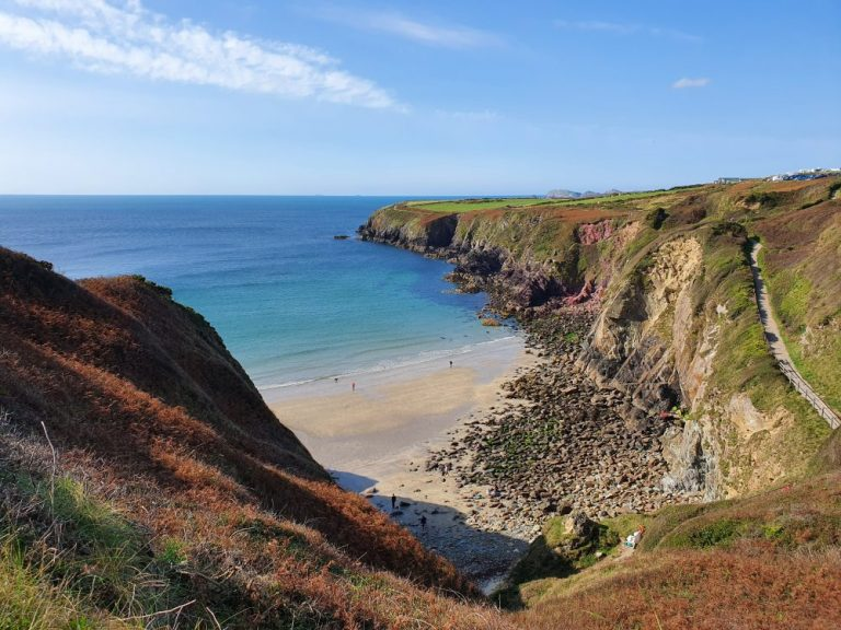 Walks in Pembrokeshire on the coast path